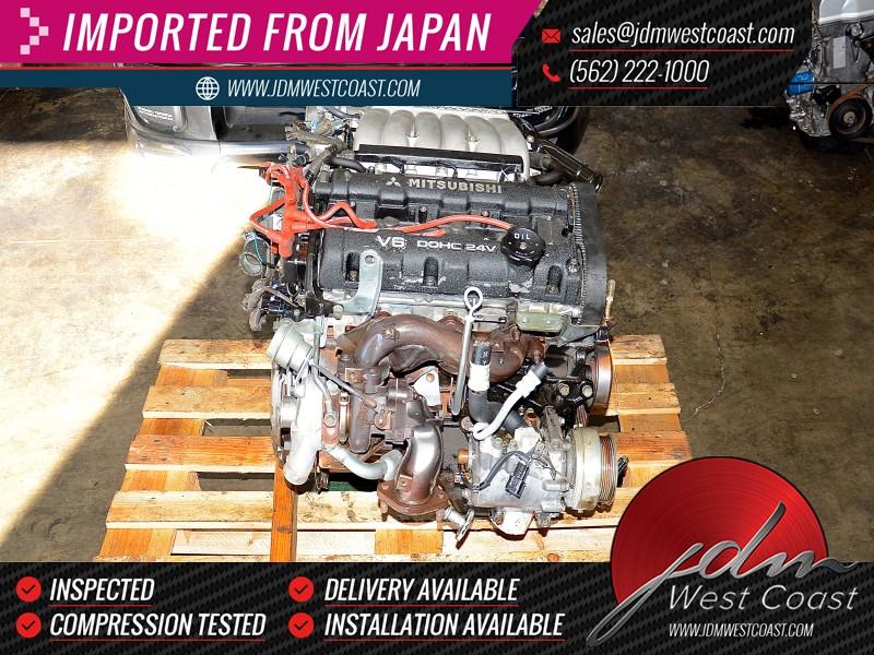 Jdm Mitsubishi 3000gt 6g72 Tt 3 0l 91 93 V6 Twin Turbo Vr4