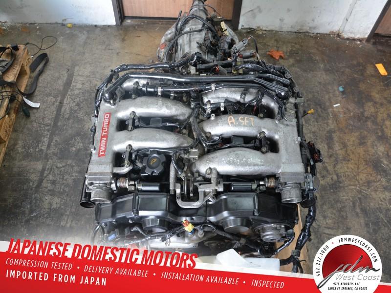 Details about JDM NISSAN 300ZX 1990-1995 VG30DETT Engine Low Compression  needs rebuild