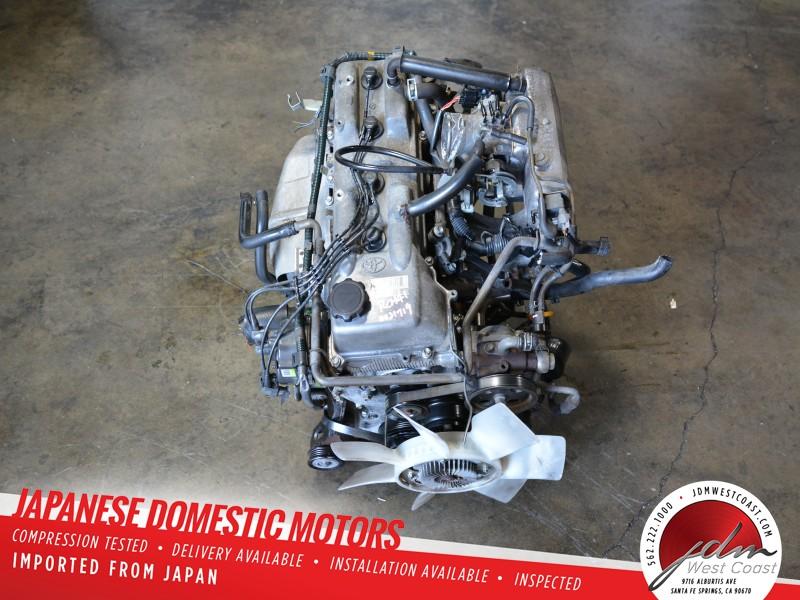 Jdm 1995 1996 Toyota Tacoma 4runner T100 2 7l 4 Cylinder Engine Jdm 3rzfe 3rz